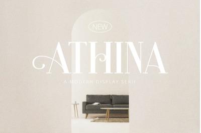 Athina - Modern Serif