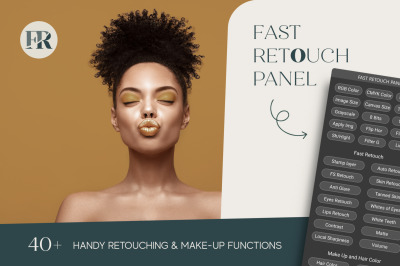 Fast Retouch Panel for Adobe Photoshop