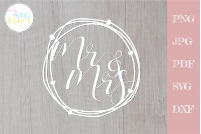 Mr & Mrs svg, Mr and mrs svg, Wedding svg