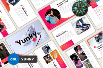 Yunky - Creative Googleslide Template