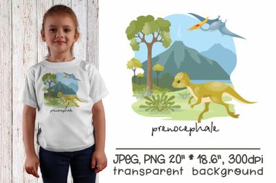 Prenocephale - sublimation design PNG