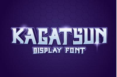 Kagatsun - Display Font