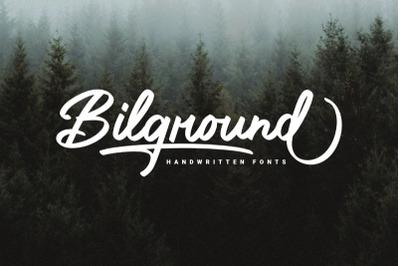 Bilground - Handwritten Fonts