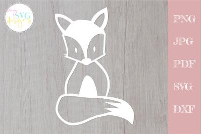 Fox svg, baby fox svg, cute fox cutfile