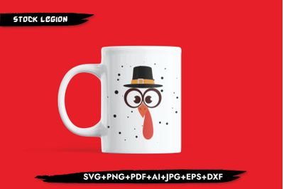 Mr. Turkey SVG