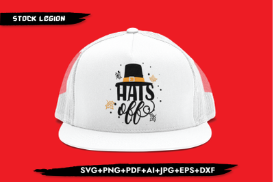 Hats Off SVG