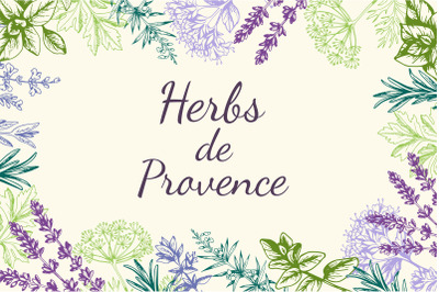 Vintage Provencal Herbs.