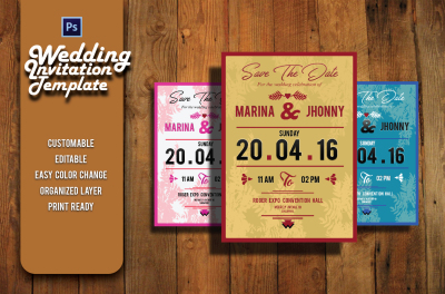 Easy Wedding invitation