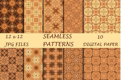 Wood Geometric Digital Papers