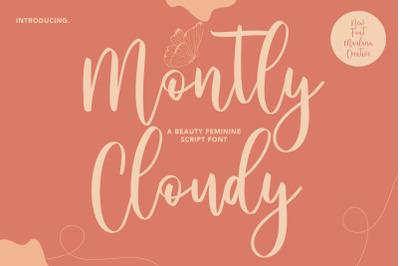 Montly Cloudy Beauty Script