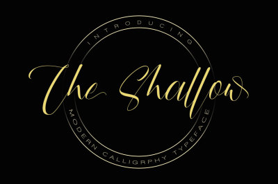 The Shallow Typeface