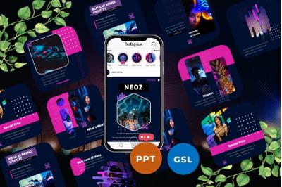 Neoz - Instagram Post & Story Templates