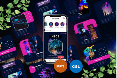 Neoz - Instagram Post & Story Templates