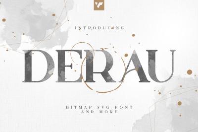 Derau - Bitmap svg font and more