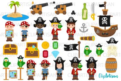 Pirate Clip Art, Pirates, Pirate Ship Treasure Island