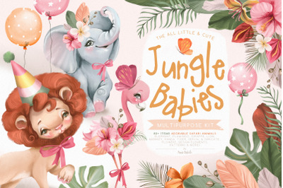 Jungle Babies Multipurpose Kit