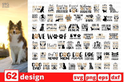 Dog Mama SVG Bundle