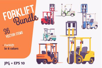 Forklift vehicle bundle