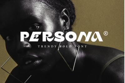 Persona - Trendy Bold Font