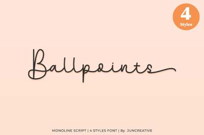 Ballpoints