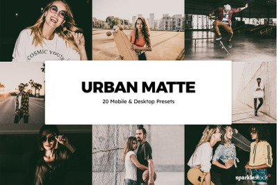 20  Urban Matte LR Presets