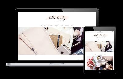 Bella Beauty Fashionable WordPress Genesis Theme