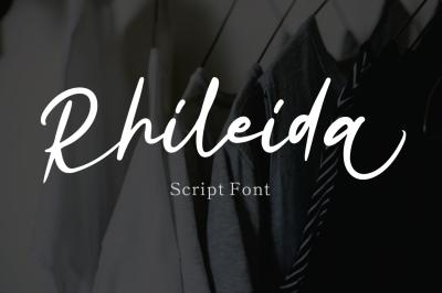 Rhiledia - Script Font