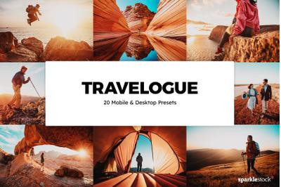 20  Travelogue LR Presets