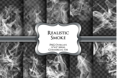 White Smoke Overlays Transparent PNG Graphics