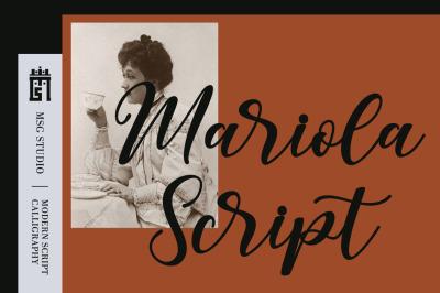Mariola Script