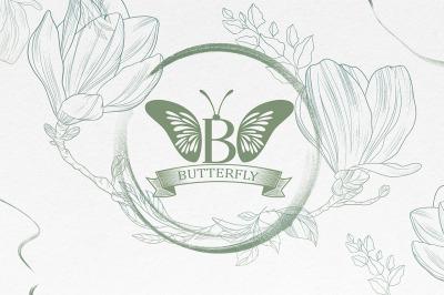 Butterfly Monogram