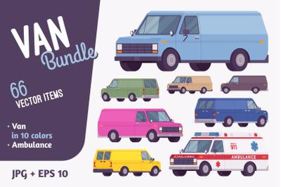 Van vehicle bundle