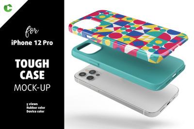 Phone 12 Pro Tough Case Mock-up