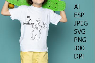 Dog SVG/PNG/ESP/JPEG/AI