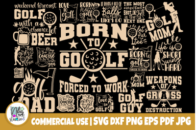 Golf SVG Bundle, Golfing Svg, Funny Quotes Svg