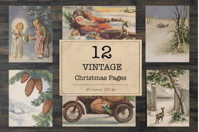 Christmas images, ephemera classics