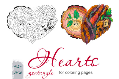 Heart for coloring pages