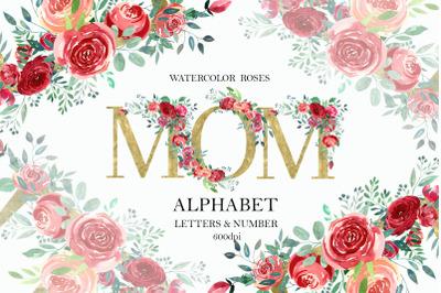 Red Roses Alphabet