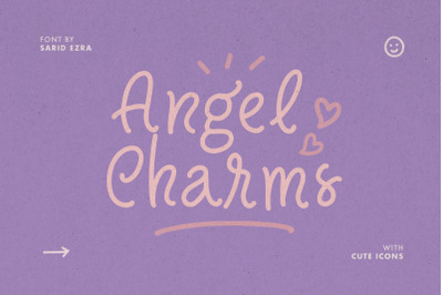 Angel Charms - Cute Font