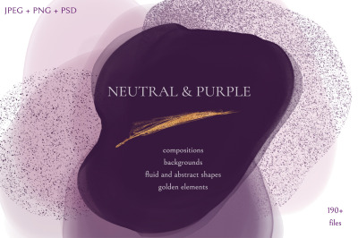 Neutral & Purple