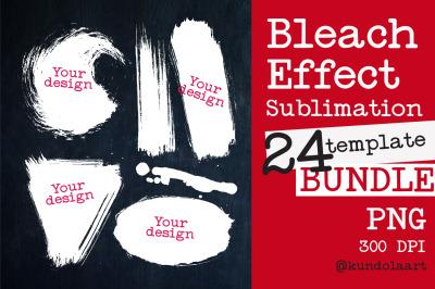 Bleach Effect Bundle for Sublimation Mockups