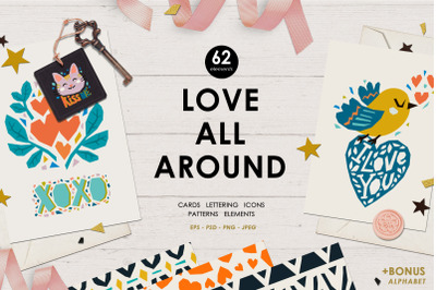 Love all around collection