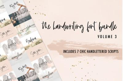 The Chic Handwriting Bundle Vol. 3
