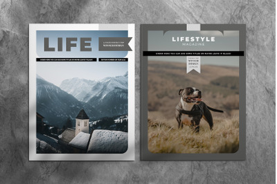 Lifestyle Indesign Template