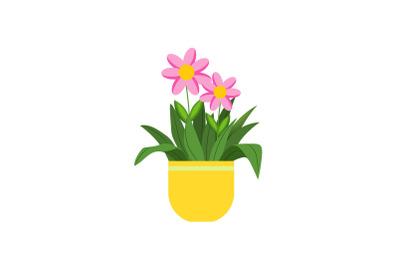 Spring Kawai Flower Pot 2