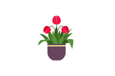 Spring Kawai Flower Pot 10