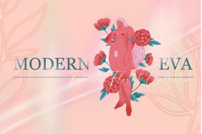 MODERN EVA - females florals pack