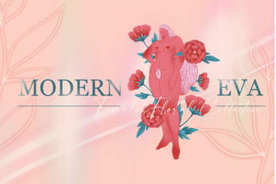 MODERN EVA - females florals pack