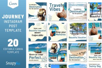 Journey Instagram Travel Template
