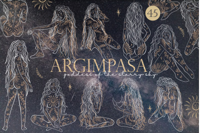 Argimpasa - Goddess of Space